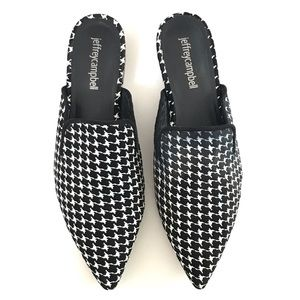 Jeffrey Campbell Claes Pointed Toe Slip On Mule